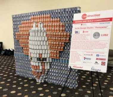 Cole And Incite Design Studio Pennywise Design Canstruction St Louiscole